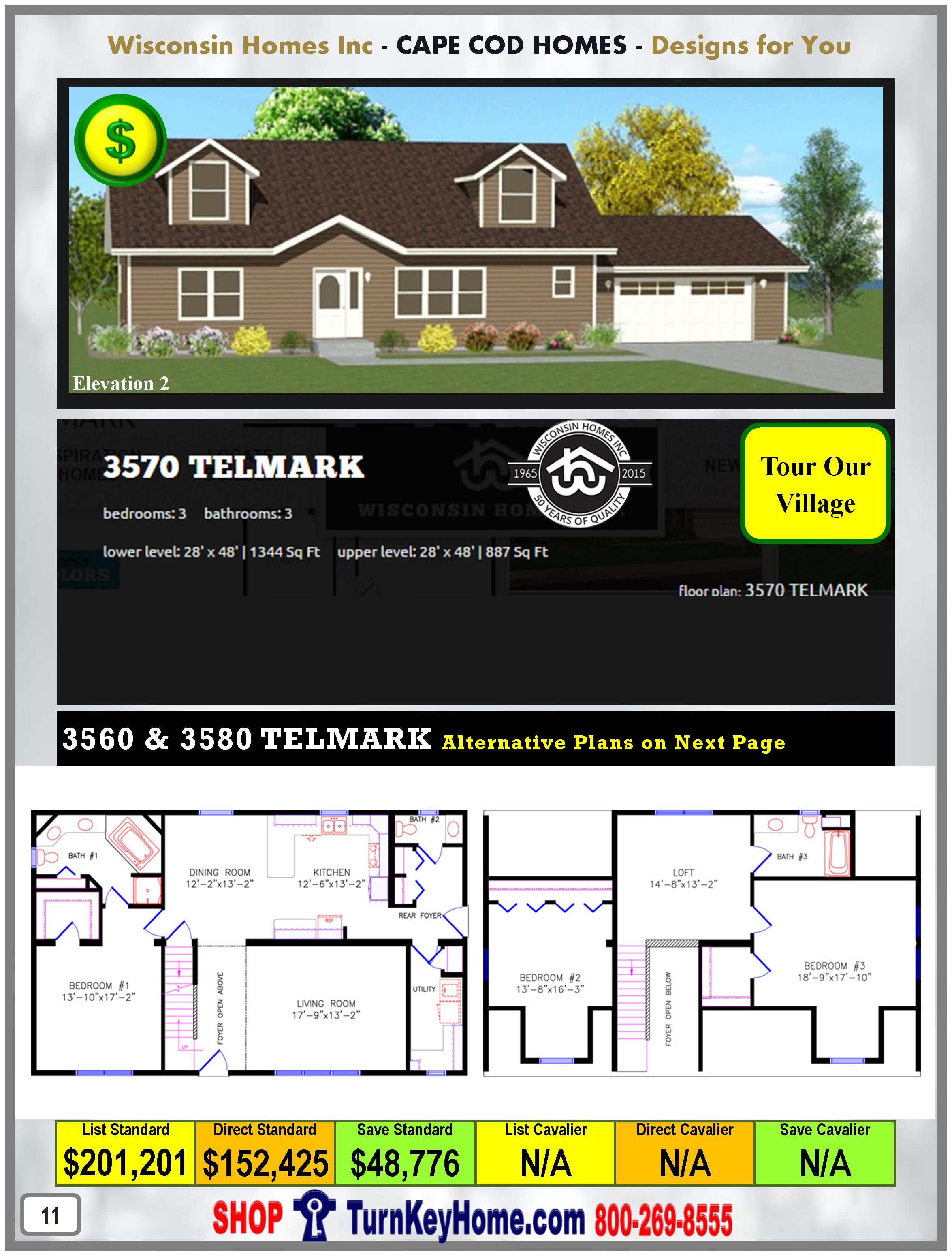 Modular.Home.Catalog.Wisconsin.Homes.Inc.Cape.Cod.Telmark.3570.2.P11.1215