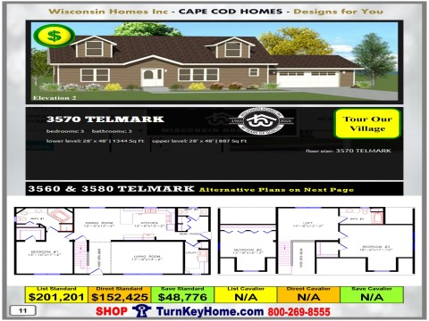 Modular.Home.Catalog.Wisconsin.Homes.Inc.Cape.Cod.Telmark.3570.2.P11.1215.p