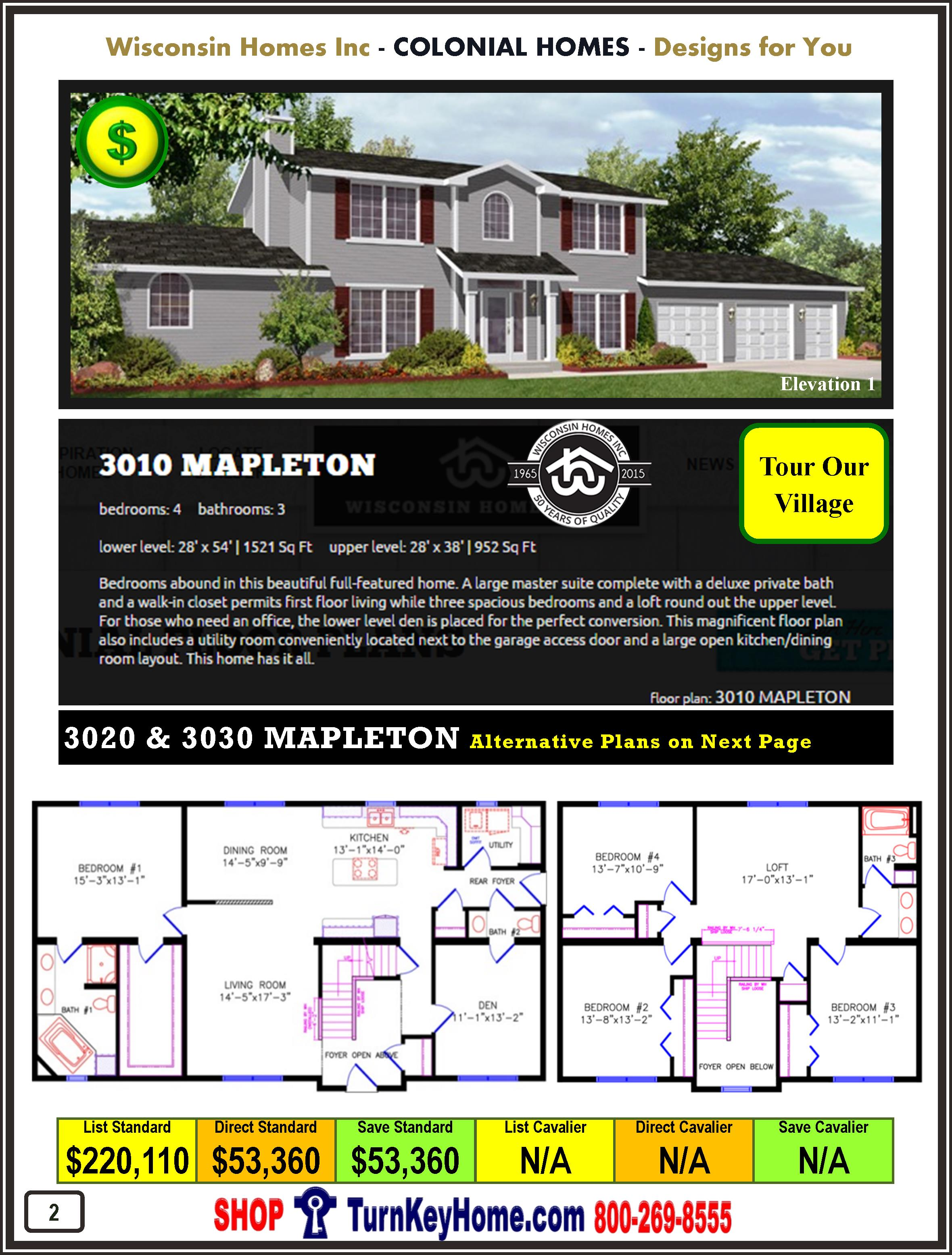 Modular.Home.Catalog.Wisconsin.Homes.Inc.Colonial.Mapleton.3010.1.P2.1215
