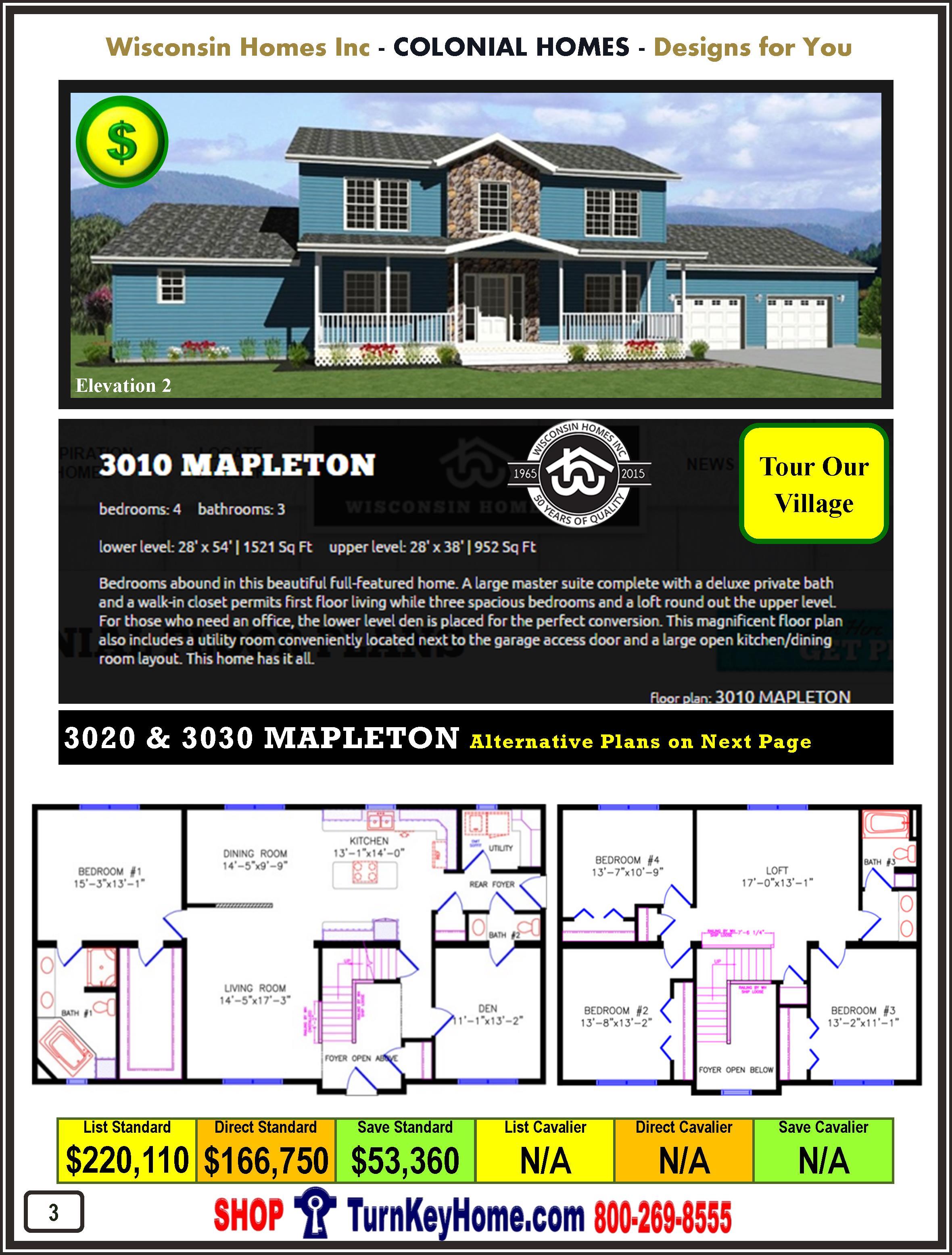 Modular.Home.Catalog.Wisconsin.Homes.Inc.Colonial.Mapleton.3010.2.P3.1215