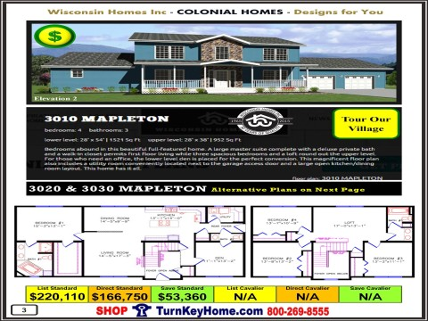 Modular.Home.Catalog.Wisconsin.Homes.Inc.Colonial.Mapleton.3010.2.P3.1215.p