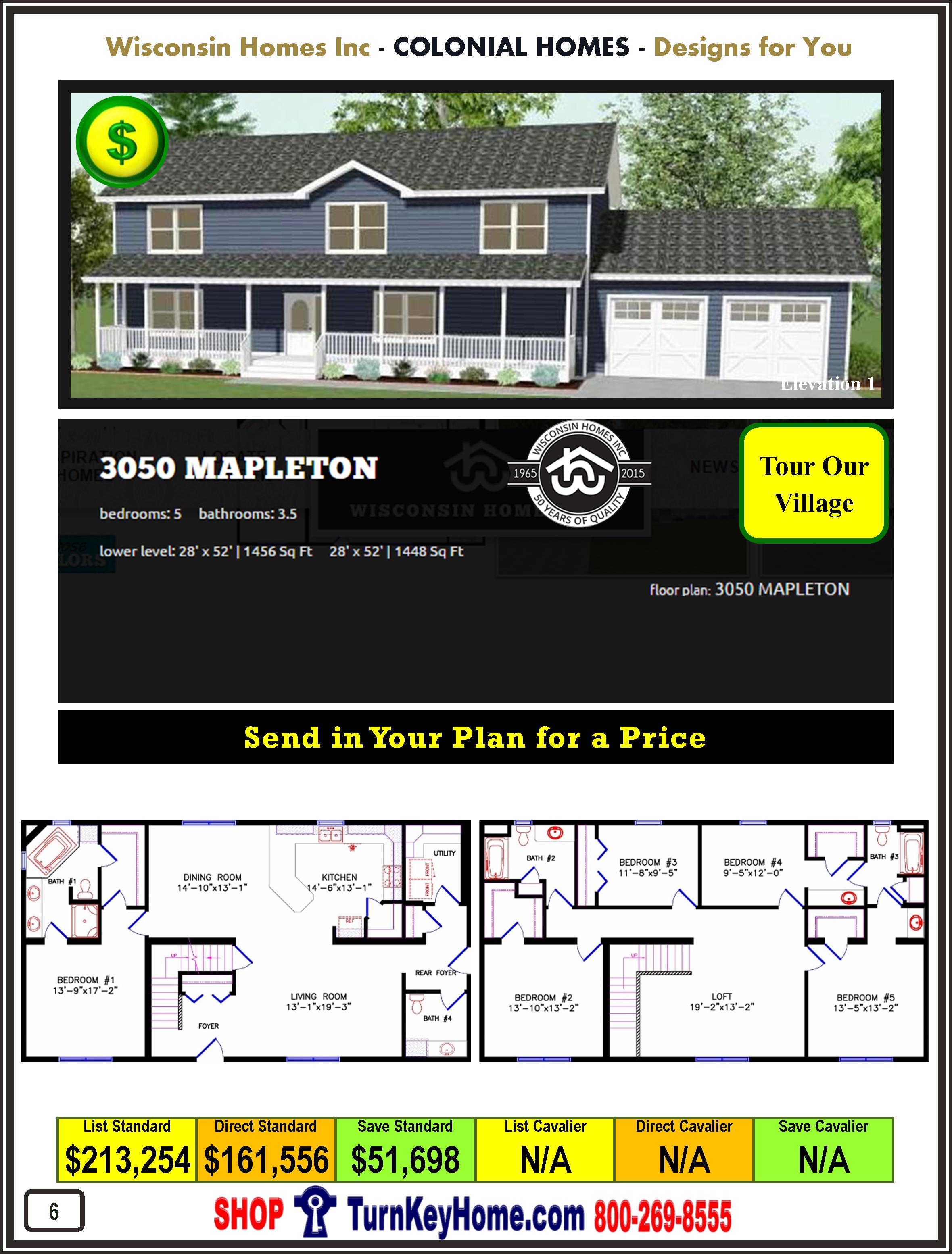 Modular.Home.Catalog.Wisconsin.Homes.Inc.Colonial.Mapleton.3050.1.P6.1215
