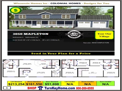 Modular.Home.Catalog.Wisconsin.Homes.Inc.Colonial.Mapleton.3050.1.P6.1215.p