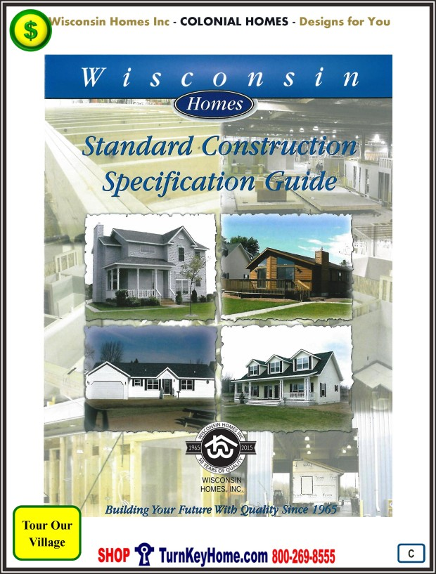 Modular.Home.Catalog.Wisconsin.Homes.Inc.Colonial.Standards.PC.1215