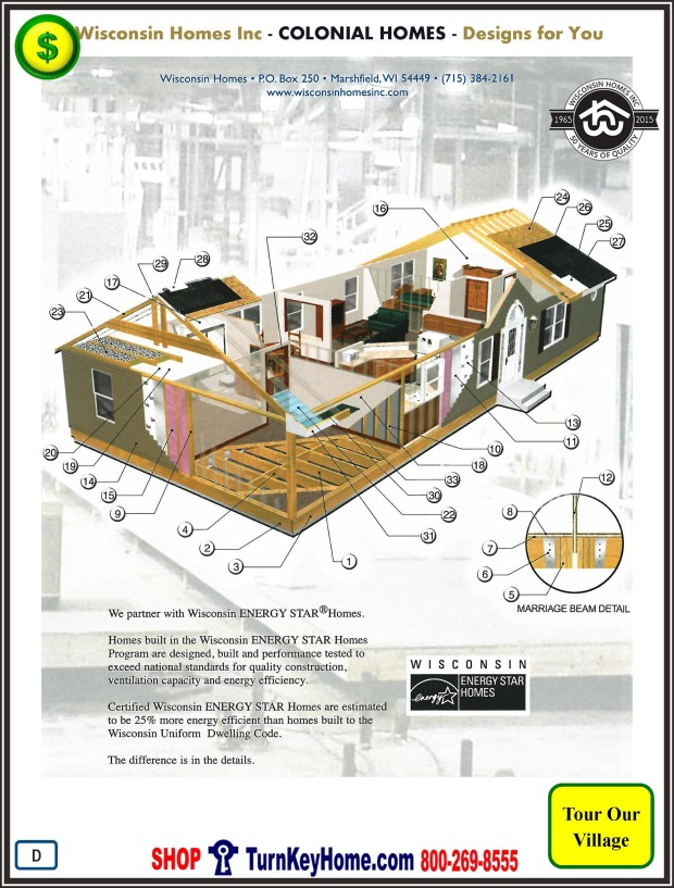 Modular.Home.Catalog.Wisconsin.Homes.Inc.Colonial.Standards.PD.1215