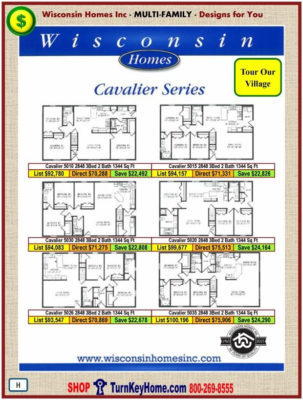 Modular.Home.Plan.Price.Catalog.Wisconsin.Homes.Inc.Cavalier.Plans.Prices.Standards.PH.0116
