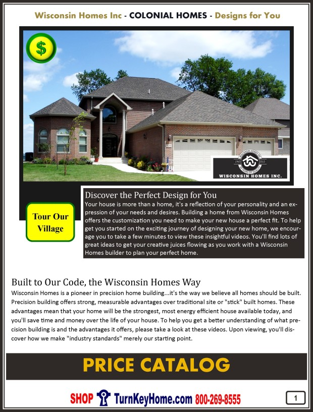 Modular.Home.Plan.Price.Catalog.Wisconsin.Homes.Inc.Colonial.P1.1215