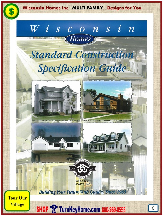 2630 Duplex Wisconsin Homes Inc Modular Multi Family Home