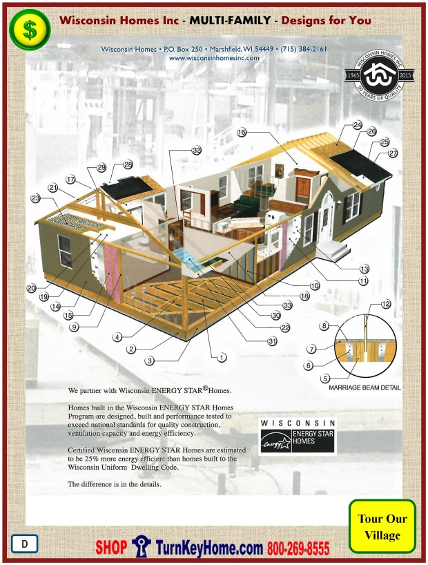 Modular.Home.Plan.Price.Catalog.Wisconsin.Homes.Inc.Multi.Family.Standards.PD.0110
