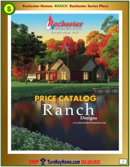 Ranch Modular Home Prices FROM Rochester Homes Inc Ranch Home Plans