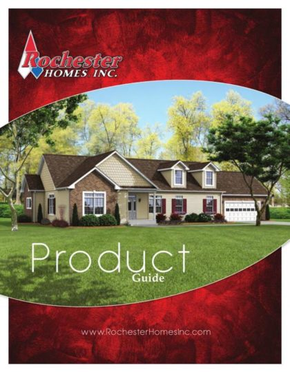 Modular Home Product Guide FROM Rochester Homes Inc SELECT Options, Products and Color Choices