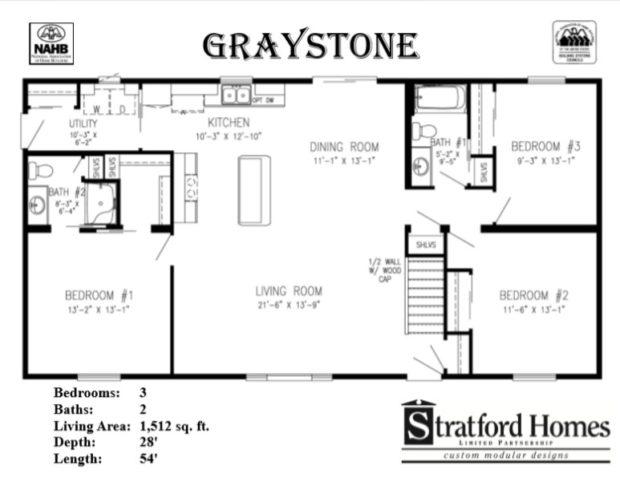 Stratford Homes Floor Plans: STRATFORD HOMES 4-Models And Modular Home Factory Tour