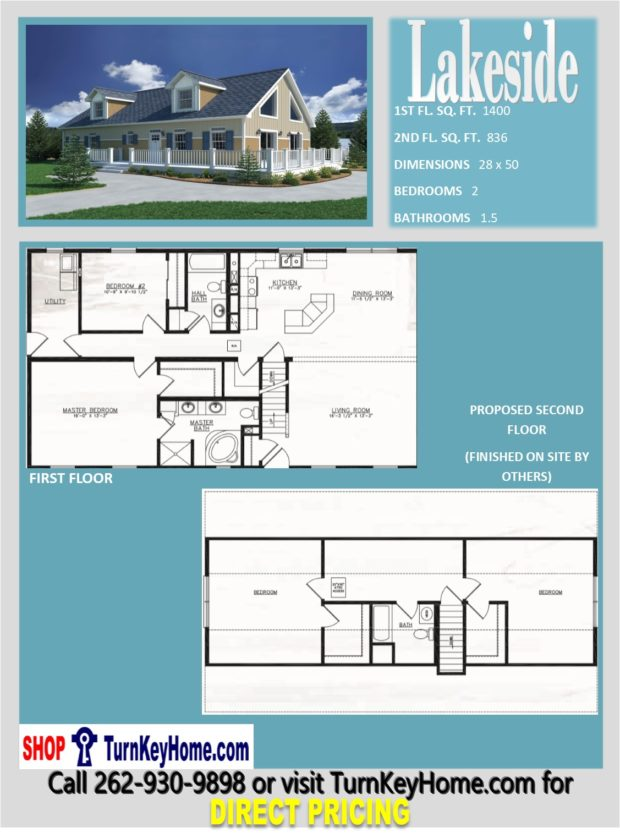 Lakeside cape cod style home 2 bed 1 5 bath plan 2236 sf for 1 5 story cape cod house plans